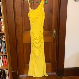Hailey Logan by Adrianna Papell Yellow Dress